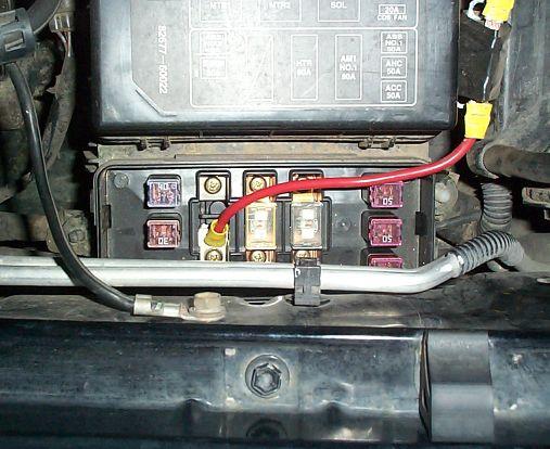 Wiring Diagram Toyota Prado Radio