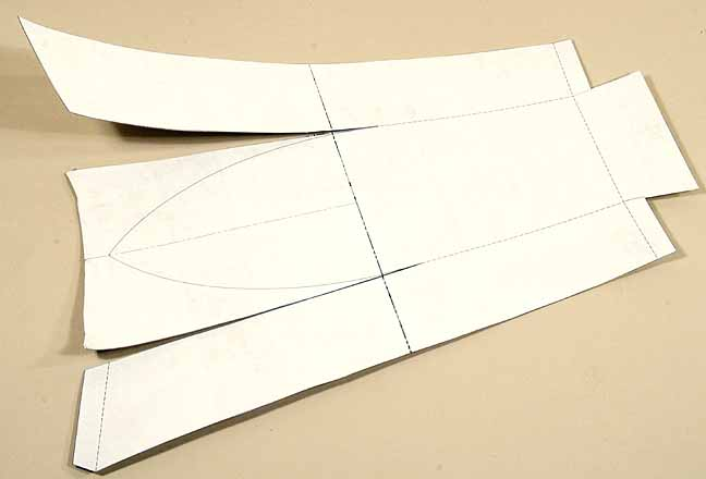 Pop Out Paper Boat Template for Pinterest