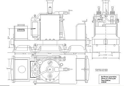Drawings for Small-Scale Live Steamers